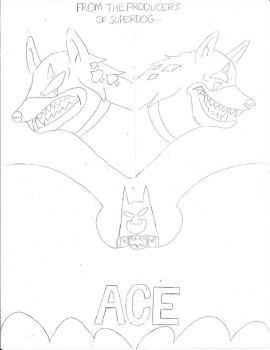 Ace The Bat-Hound: The Movie- Theatrical Poster by Dabutlers100