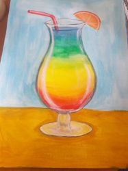 rainbow cocktail by TaitGallery
