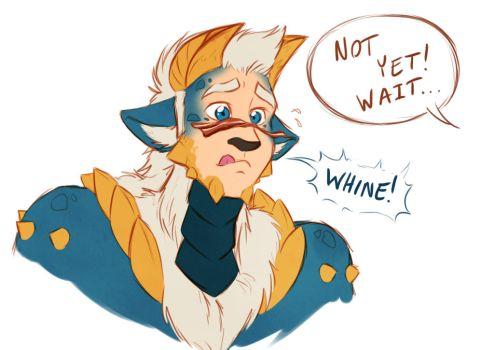 Puppy Whines by evion