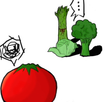Vegetable Racism by r2d3d