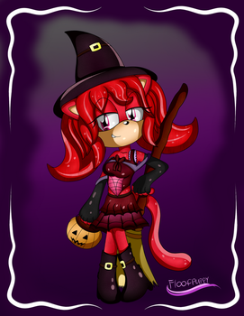Trick-or-Treat, I'm good enough to eat by FloofPuppy-64