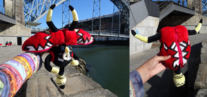 Tapu Bulu zip-up plush