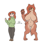 Weremom - Color by Zedrin