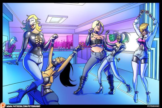 The Latex Couple: Night at the Club by Fetishhand