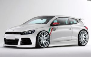 VW Scirocco R '08 by HAYW1R3