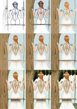 Bride Process by Piluchi