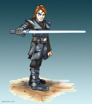 Anakin Infinity by snow-j