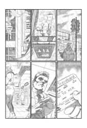 Hellblazer sample #3 by CanalesComics