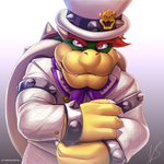 Dapper Bowser by hybridmink