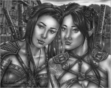 Sisters In Arms by MJWilliam