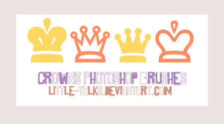 Crowns Brushes Photoshop by little-talks