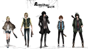 Another world characters - Added Sam by sakooo