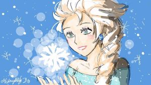 Elsa by MidnightlityDreams