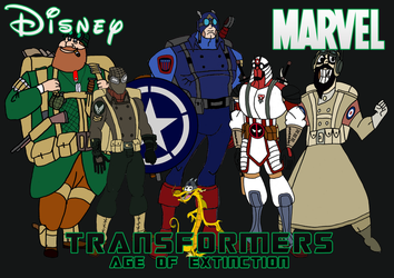 TF as Disney and Marvel by JMK-Prime