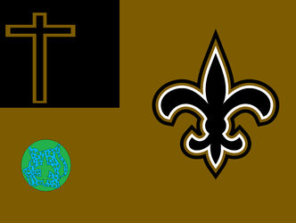Who Dat Nation Flag by Toxicthenobody
