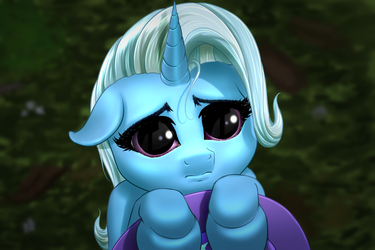 The Humble and Pleading Trixie by MykeGreywolf
