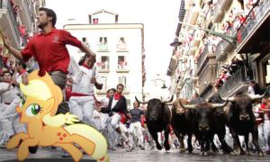 Running of the Bulls. by HAchaosagent