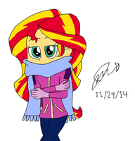 Chilly winter morning by resotii