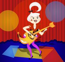 Judy Jetson Rock Star by HippocornDesigns