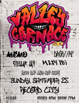 Valley Carnage Vol IV Poster by AlexaHarwoodJones