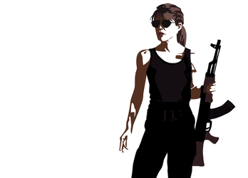 Terminator - Sarah Connor by MauserGirl