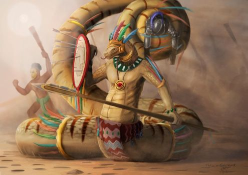 Ascended high priest of Quetzalcoatl by ThemeFinland