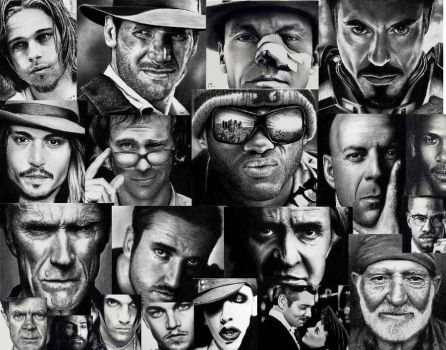 Wallpaper of my Drawings by Doctor-Pencil