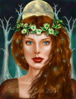 Celtic Goddess by beccacox