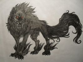 Barghest by PineappleBarghest