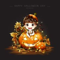 EXO D.O : Happy Dyoloween Day by bluezazzle