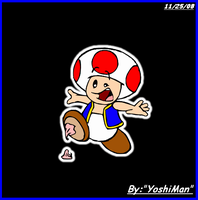 Just Toad by YoshiMan1118