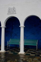 Pillars and Seats Stock by Sheiabah-Stock