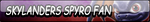 Skylanders Spyro Fan Button (Request) by Kyu-Dan