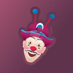 Ringling Bros and B+B Circus Clown - Victor by PluivantLaChance