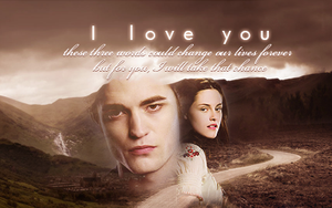 Edward and Bella: I Love You by SimplyDreams