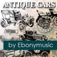 Antique cars by Ebonymusic