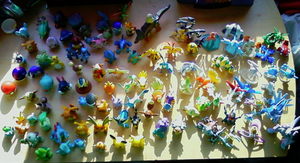 My Pokemon figures 8B