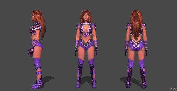 Starfire Injustice 2 by SSingh511
