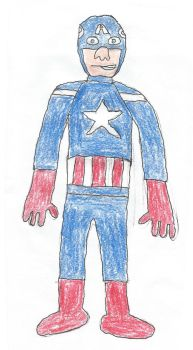Captain America by Jephael by Jephael
