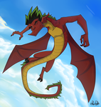 American Dragon by Re-RD-Re