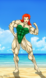Poison Ivy at the beach by MATL
