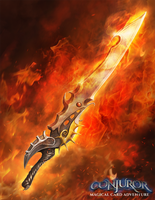 Fire Sword by BABAGANOOSH99