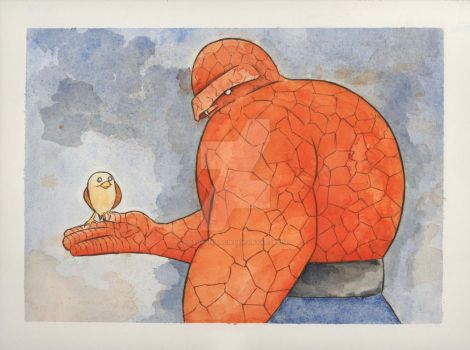 The Thing by stuponitron