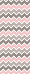 Pink Grey White Chevron - Custom Box Background by SugareeSweets