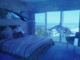 The Dolphin Room by Crescentmoon19