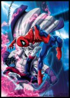 Colours- SpideyUK 158 cover by JasonCardy