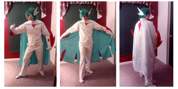 Mega Gallade Cosplay by The-Mouse-Returns