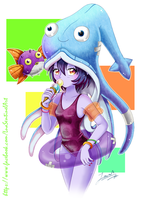 Pool Party Lulu by LuaSentinel