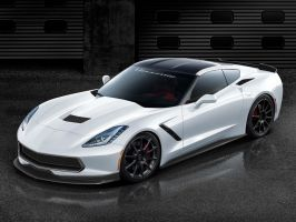 Hennessey Corvette C7 by jonsibal