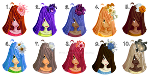 Adoptable Winx OC/FC Colour Pallets CLOSED by Voltairiss